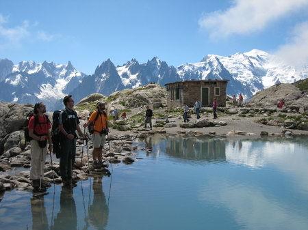 Alpes dia 6: Lago Blanco
